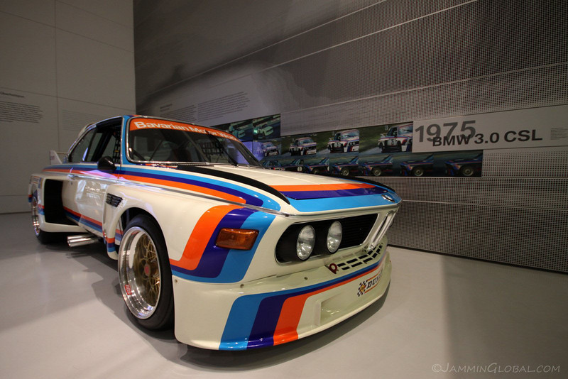 Europe Part A Day In Munich At The BMW MuseumJammin Global - 1975 bmw 3 0 csl