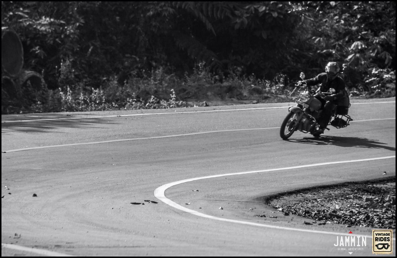 Jay riding Northern Thailand