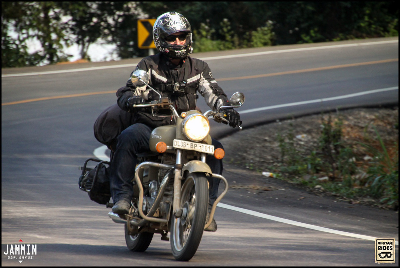 Noel riding Northern Thailand