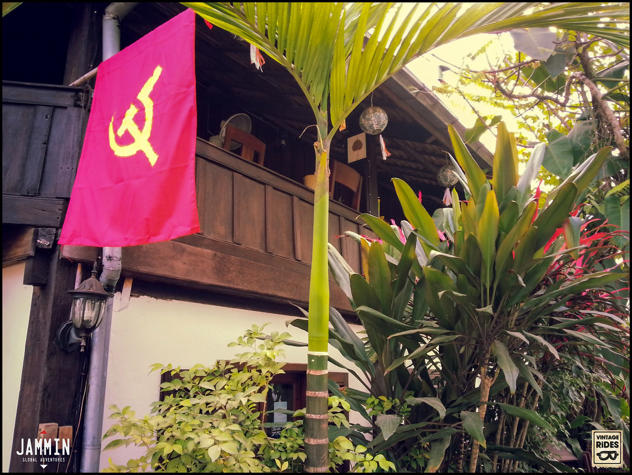Communist presence in Laos