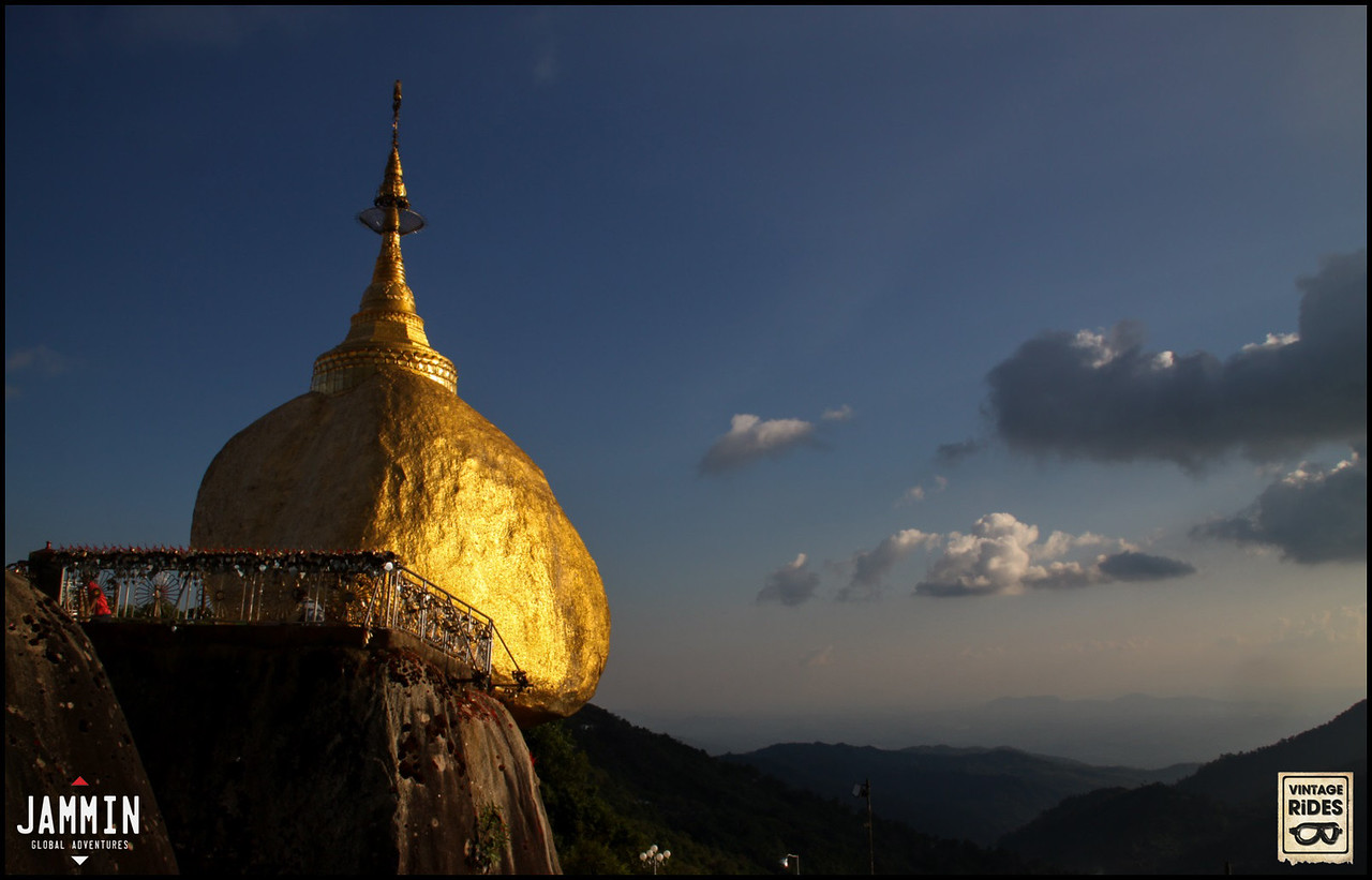 The Golden Rock of Myanmar