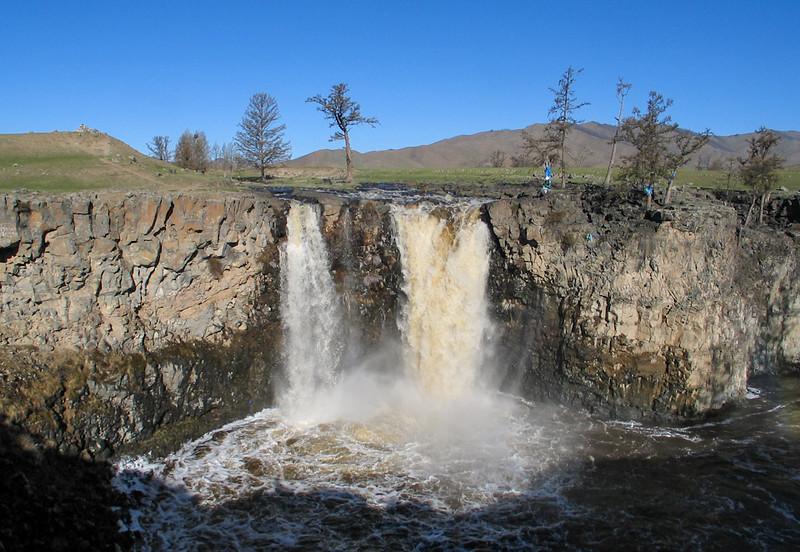 The Orhon Waterfalls