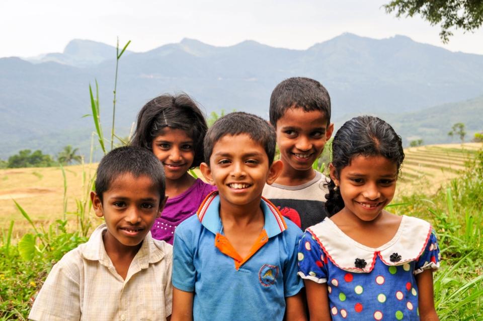 Smiley kids of Sri Lanka