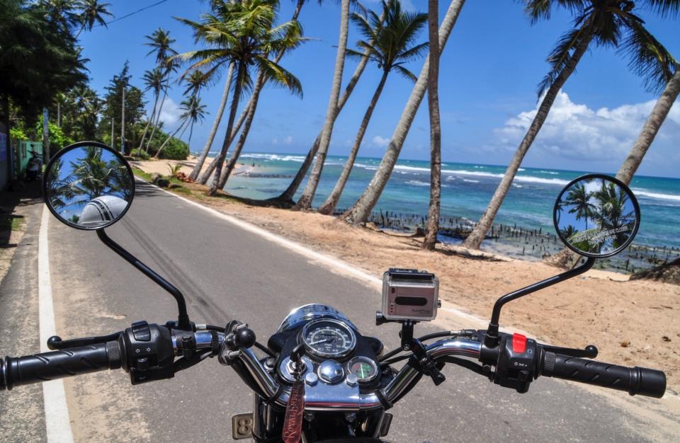Ride the Southern Coast of Sri Lanka