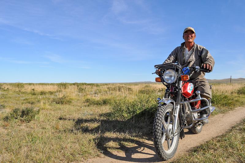 Local Mongol rider