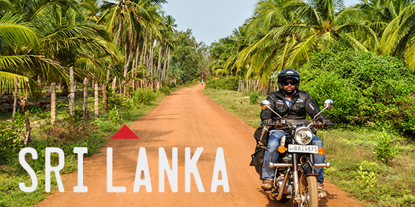 Sri Lanka Motorcycle Tour