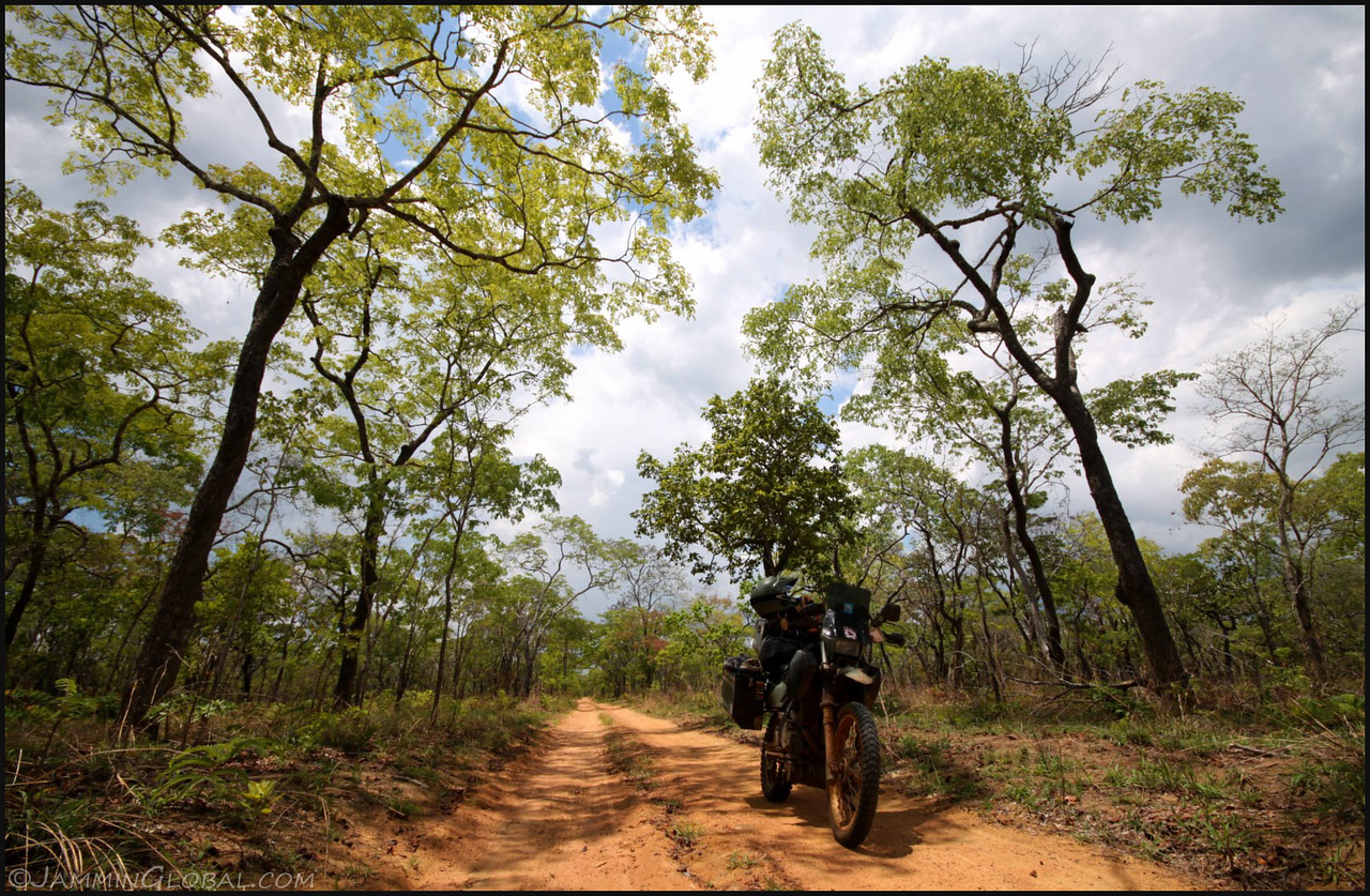 Riding the wilds of Northern Mozambique